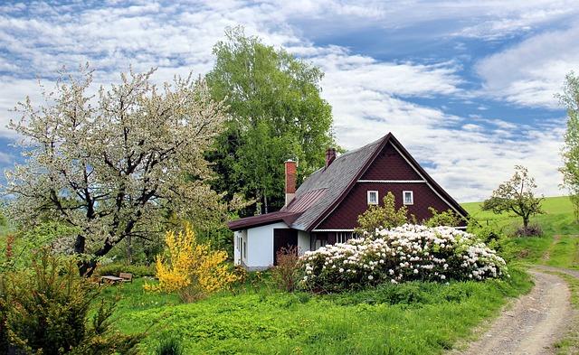 田舎の住宅