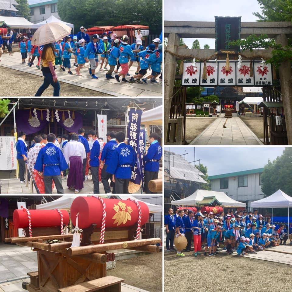 山阪神社祭礼
