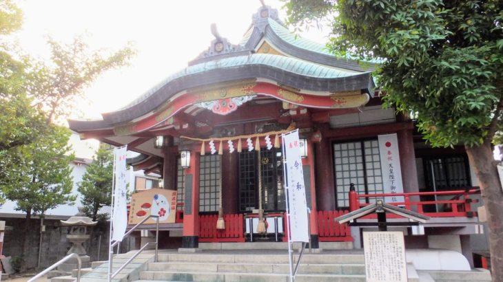 阿倍野王子神社の夏祭り